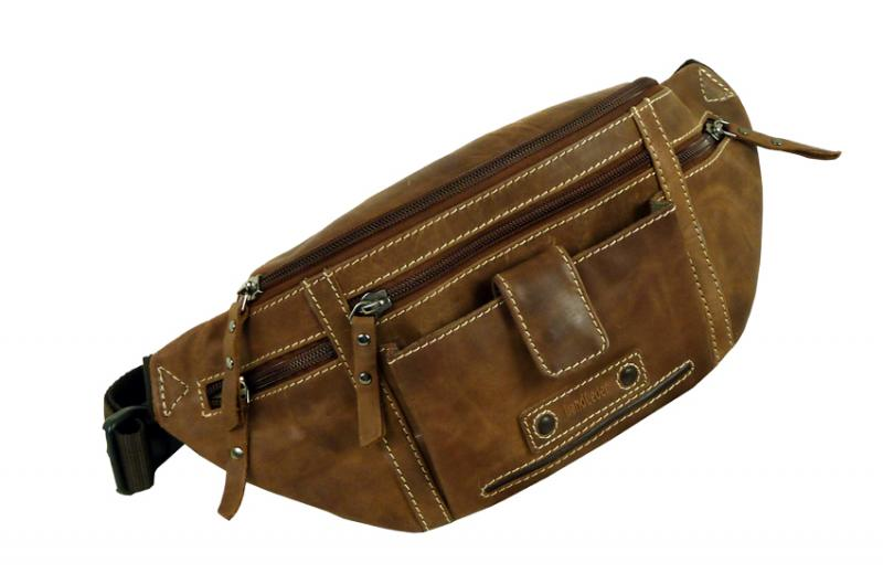 LandLeder Belly Bag from leather  3021