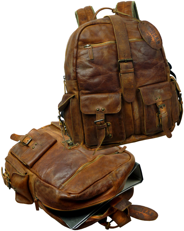 LandLeder Backpack natural brown 4040