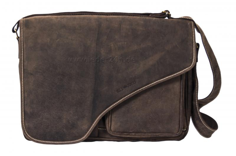 HILL BURRY Ledertasche - 4012